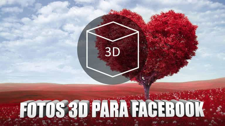 Crear Fotos 3D para Facebook en Photoshop